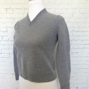 Banana Republic extra fine merino v-neck sweater